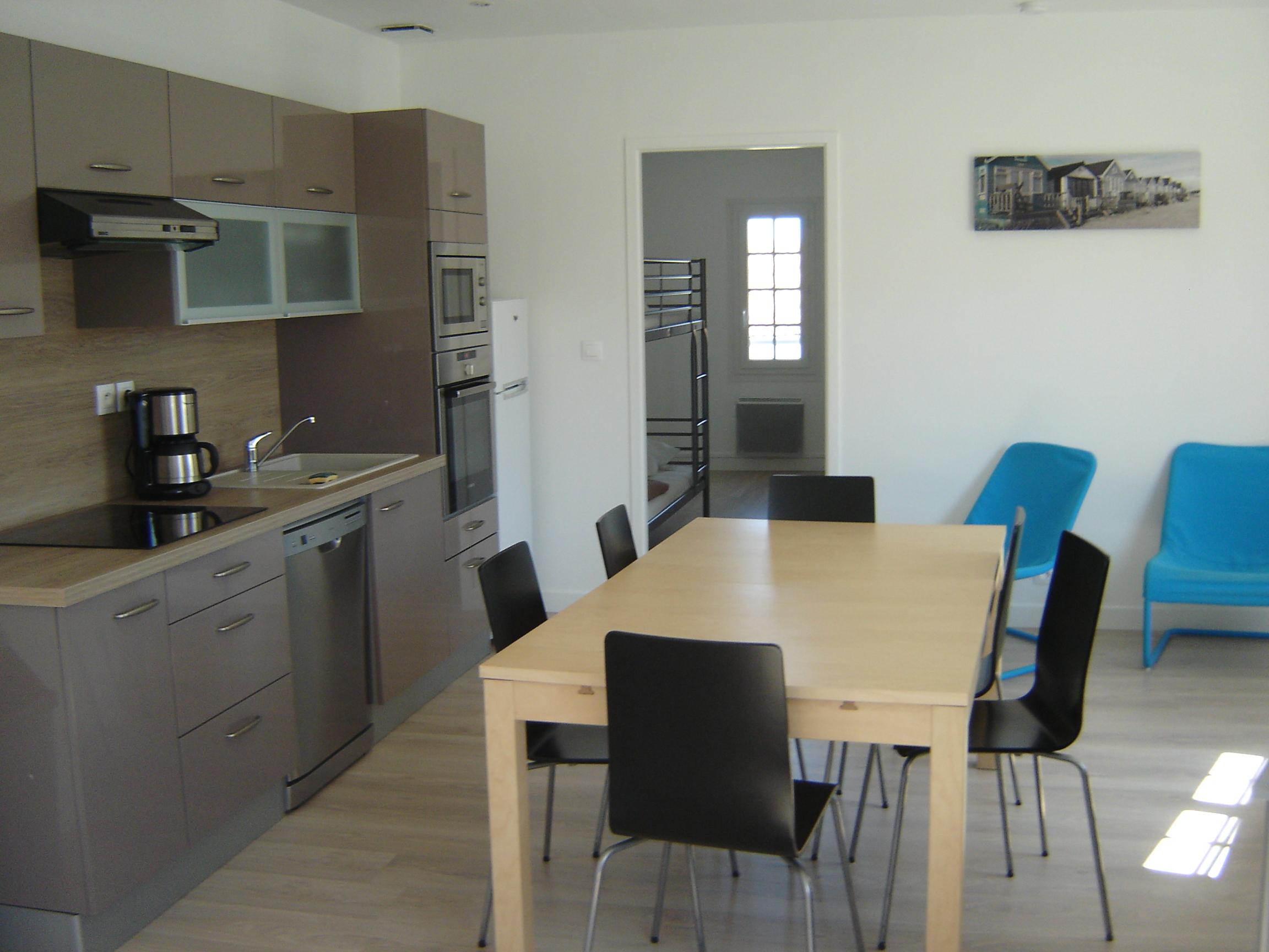 location ile de r rivedoux plage appartement meubl ile de r 60 m2 environ easy r. Black Bedroom Furniture Sets. Home Design Ideas