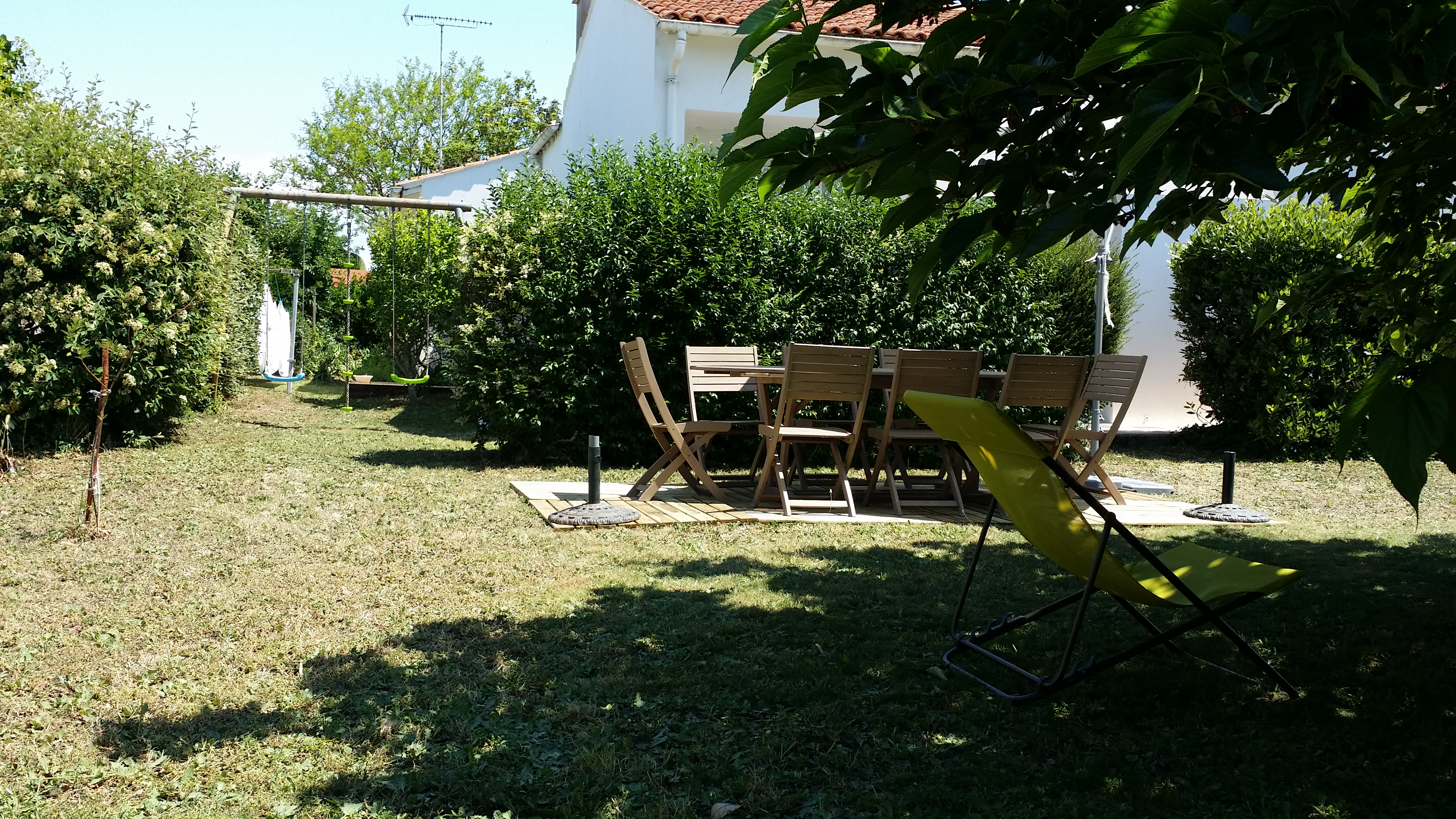 Location ile de r saint cl ment des baleines villa for Entretien jardin ile de re
