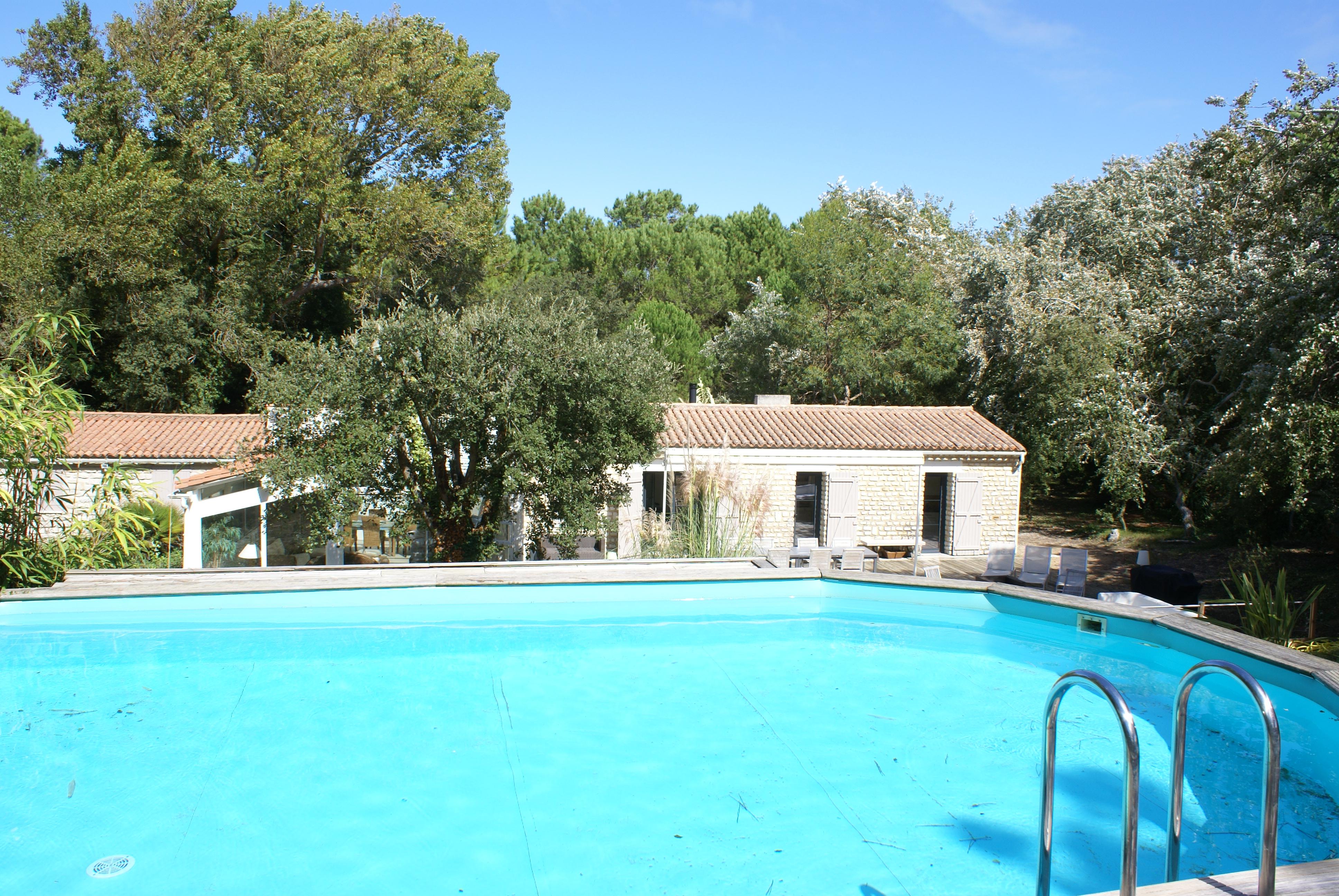 Location Ile De R Le Bois Plage En R Villa Avec Piscine Et  ~ Location Maison Bois Plage En Ré