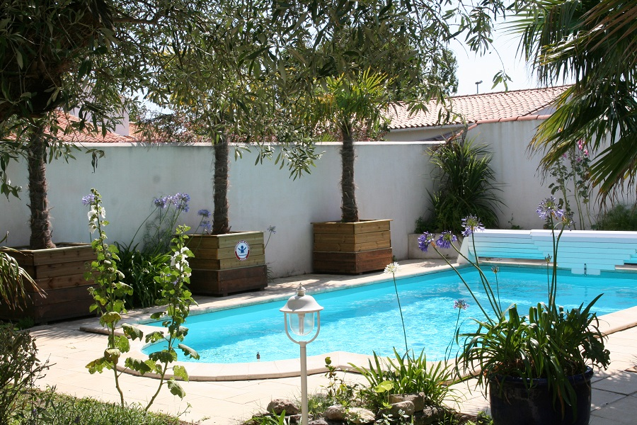 Location Ile De R  RivedouxPlage  Belle Maison Ave Piscine
