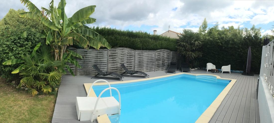 location ile de r saint martin de r villa avec piscine chauffee au charme r tais easy r. Black Bedroom Furniture Sets. Home Design Ideas